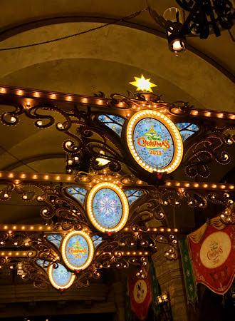 2019年クリスマスの天井