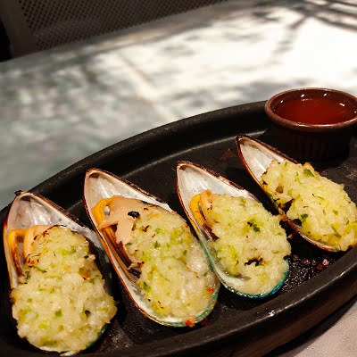 ムール貝のガーリック焼き