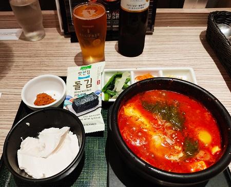 純豆腐セット