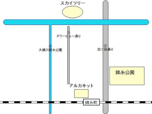 錦糸町マップ