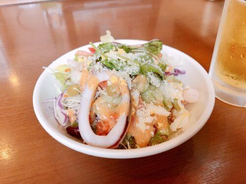 海老といかのシーフードサラダ